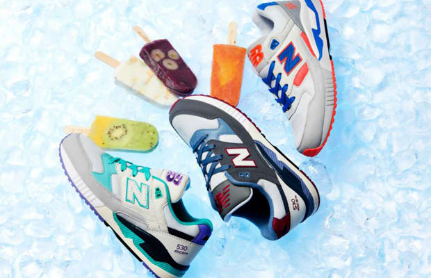 new balance 530 ice cream pack