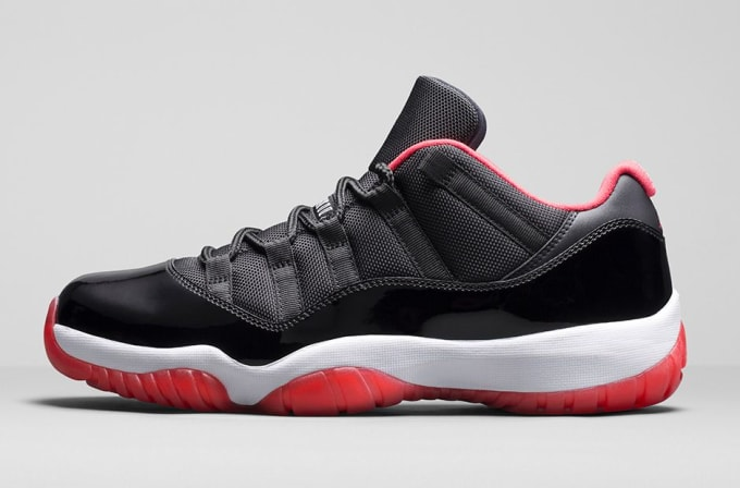 separation shoes 6805c 9204b ... best price air jordan xi low black red 87209 0f66a ...