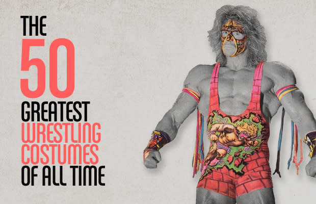 The 50 greatest wrestling costumes of all time complex wrestling is as much about the spectacle of the show as it is about the actual match ups sure we want to see some asses get whooped in the ring solutioingenieria Gallery