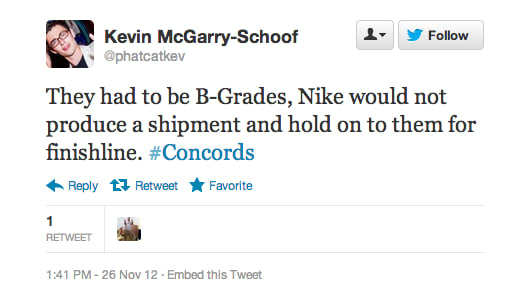 3ab4c517424 The 25 Most Ignorant Tweets From Finish Line s Jordan XI Concords ...
