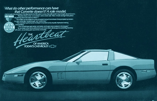 13 Artistry The 25 Most Iconic Chevrolet Corvette Ads Complex