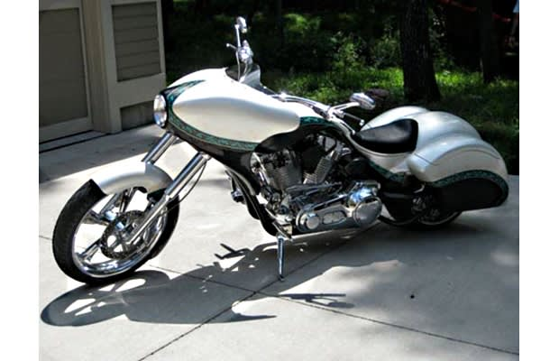 19 Mary Brown S Road Rocket Motorcycle Custom Redneck Engineering Bagger