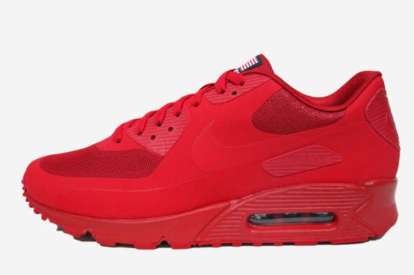 best sneakers f2384 db8f2 clearance welcome nike air max 90 hyperfuse red sneaker shoes for men 461df  5e9b4  uk while youre waiting on that other tonal red sneaker the swoosh  will be ...