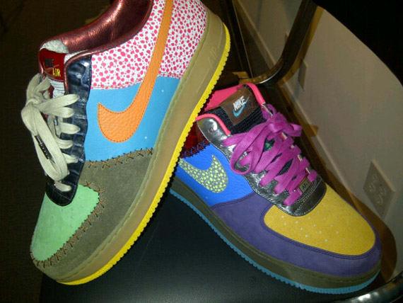 info for be41e daa75 ... Nike Air Force 1 Low Bespoke by DJ Clark Kent ...
