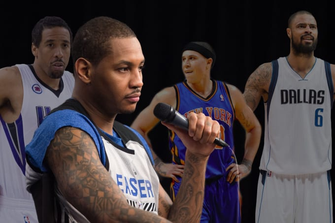 60aa7a143cb1 The 10 Best Teammates Carmelo Anthony Ever Played With
