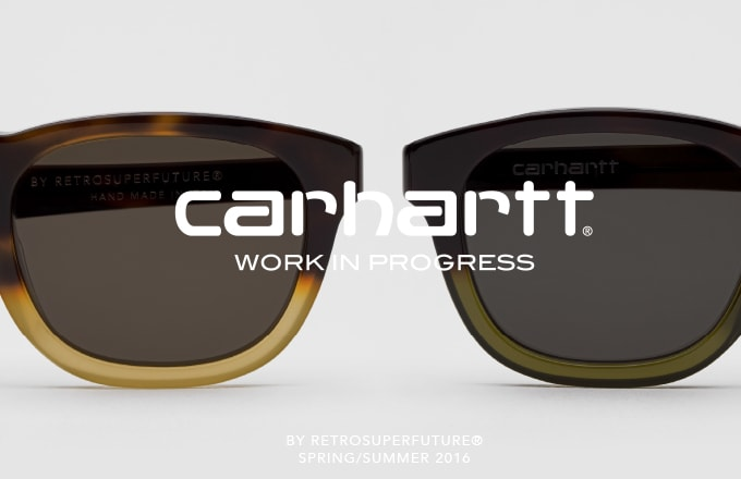 1136d14b2ea Carhartt WIP Returns to Design RETROSUPERFUTURE® for a Fifth Eyewear  Collection.