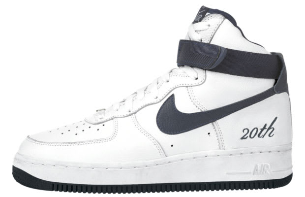 "premium selection 29b47 26687 Air Force 1 High ""20th Anniversary"""