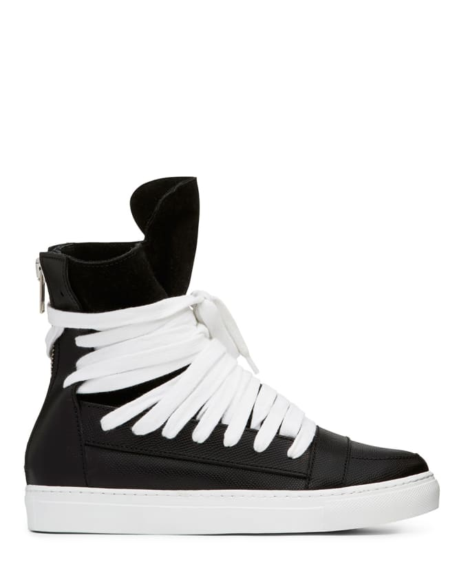 I cannot believe we ve never written about Kris Van Assche s classic multi- lace high tops. There are few designers with as signature an item as KVA s  ... d2ef75e06