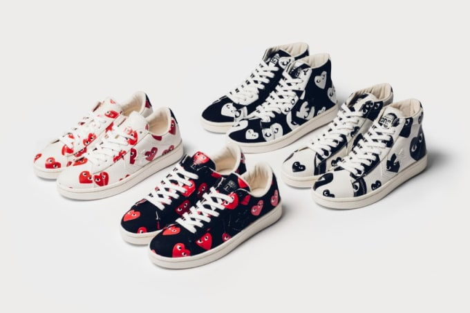 Converse Comme Des Garcons Play Pro Leather
