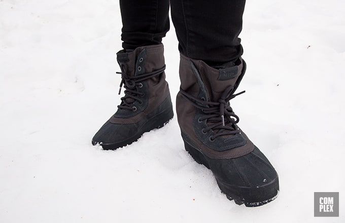 Jonas vs Yeezy  Our Intern Reviews the 950 Boots in a Blizzard 104f1ab1e