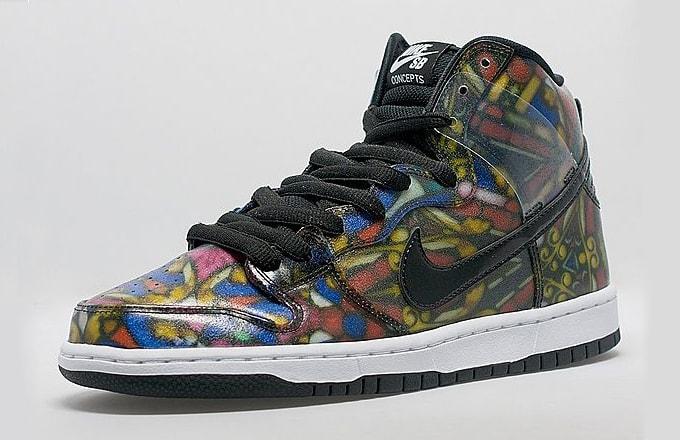 Nike Dunk High Premium 08 Men Shoe Size Chart  fed300c0b9