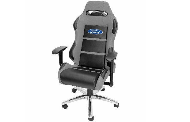 ford racing office chair 10 stupid car items available at autozone