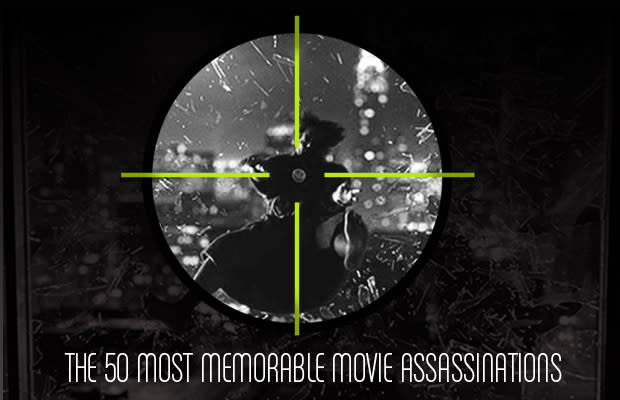 The 50 Most Memorable Movie Assassinations Complex