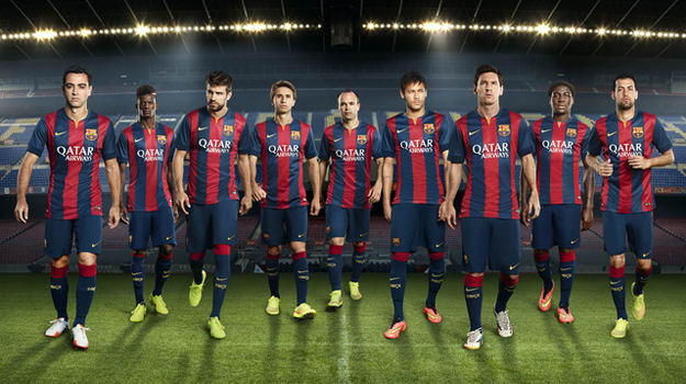Barcelona Home Kit 2014 15