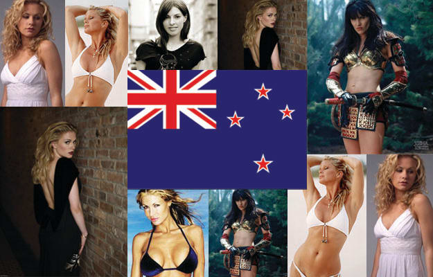 Hot new zealand chicks