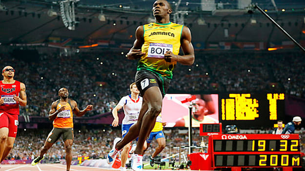 Usain Bolt Wins the Men's 200m Final for his Second Gold ...