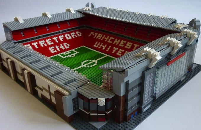 Here's How Old Trafford Would Look if It Was Made from ...