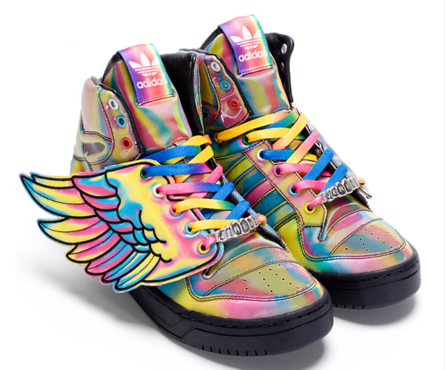 Jeremy Scott Wings Rainbow