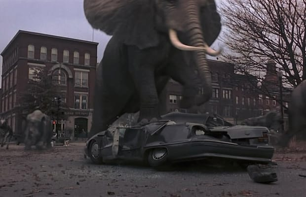 Jumanji The 50 Worst Special Effects In Movie History