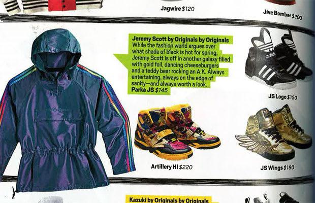 half off 09f60 4b26f Jeremy Scott x adidas Artillery Hi