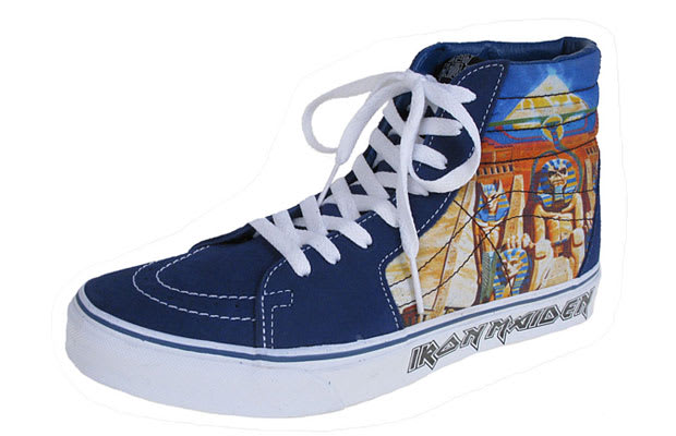 ab4156540d The 10 Coolest Vans Rock and Roll Sneakers of All Time
