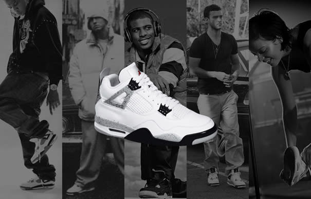 64b2f485b6ca7c ... discount code for a history of celebrities wearing the air jordan iv  98a38 5bf0e