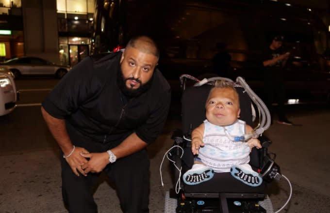 Dj khaled shows fan with disability major love gives him we the dj khaled instagram christopher alvarez m4hsunfo