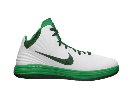 Nike Lunar Hypergamer White Gorge Green Cool Grey