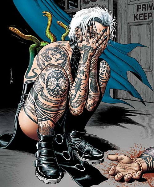 Constantine A Complex History Of Tattooed Comic Book Characters