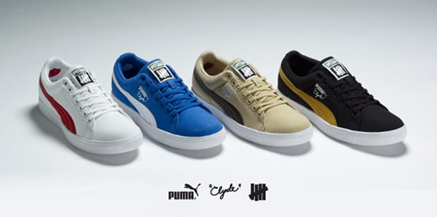 Puma X Undefeated Cali Canvas Clyde