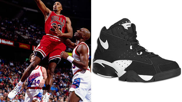 Scottie Pippen in the Nike Air Maestro