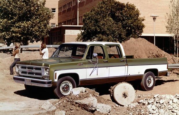 1976 Gmc 2500 Sierra Classic 3 3 Crew Cab Wideside