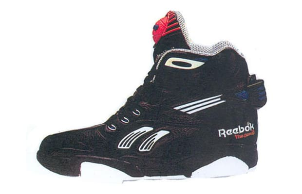 what does the pump on reebok double pump