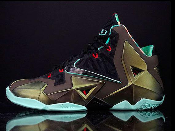 2015 New Nike Nike LeBron 11 Cheap sale GS Reverse Kings Pride