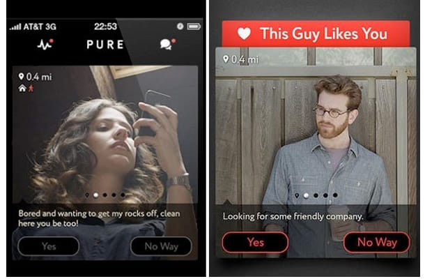 pure the hookup app