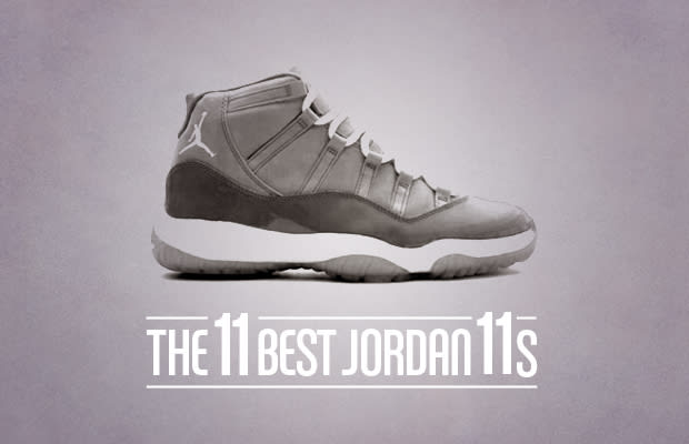 the best attitude cfb13 21ab1 Fans around the world saw Michael Jordan play his best games while wearing  the Tinker Hatfield designed (and lawnmower inspired) Air Jordan XI, ...