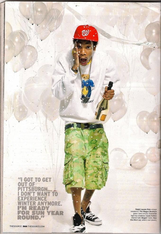 2de86d9274e Taylor ed  Wiz Khalifa s History Of Wearing The Converse Chuck ...