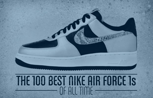 new styles ed3c6 a21c0 There are few sneakers as famous and respected worldwide as the Nike Air  Force 1. And since it was first introduced in 1982 (thank you, Bruce  Kilgore), ...