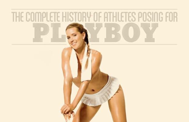 Nude olympians playboy