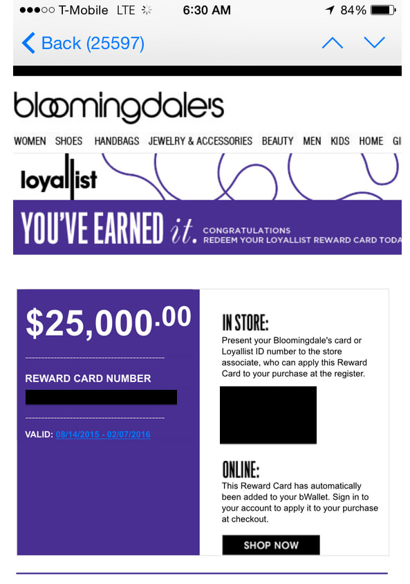 The Bloomingdale's Card is an in-store card offered by Bloomingdale's. You can use it to acquire various incentives while shopping. For a Bloomingdale's Card you can use wherever you shop, check out the Bloomingdale's American Express® Card.