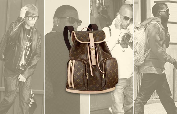 2f79906b1914 Gallery  Celebrities Wearing Louis Vuitton Backpacks