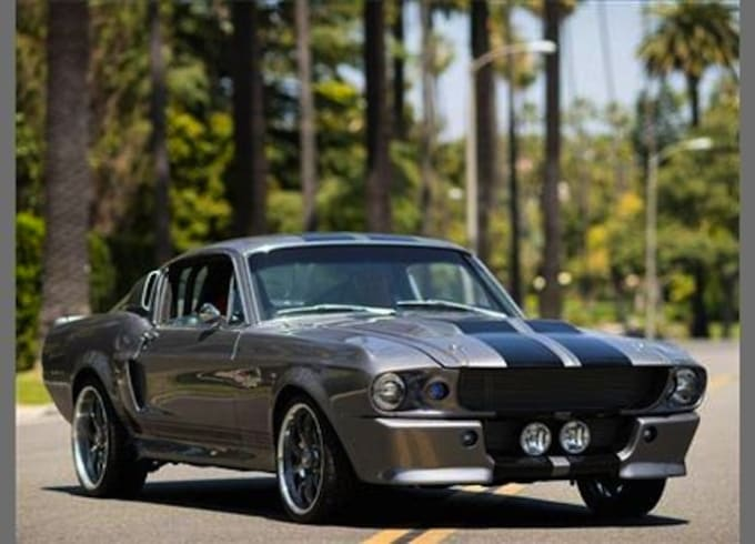 nfl running back reggie bush is selling his flawless 1967 ford mustang shelby gt 500 fastback through the ogara coach company