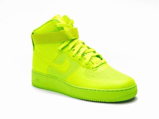 innovative design ff6b4 d49f8 Nike Sportswear has put together quite the activity today, for a limited  release of its Air Force 1 High Hyperfuse