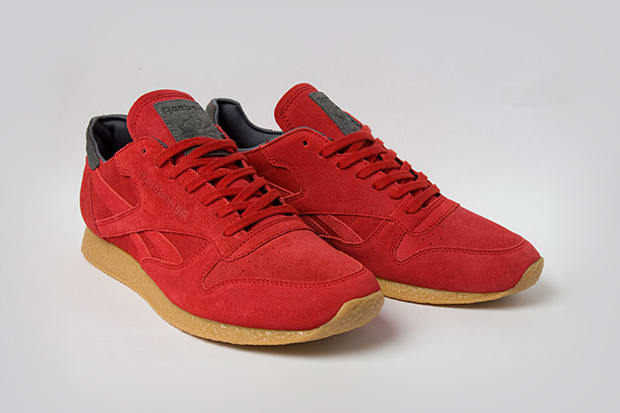 5d4c1ff919429 Is it possible to make something classic-er  Reebok takes their Classic  Leather silhouette and wraps it in supple suede presented superbly on a  crepe sole.