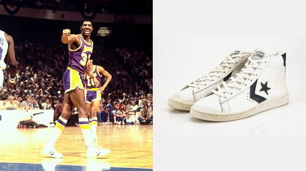 Magic Johnson in the Converse Pro Leather