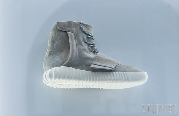 81ac9a6d6e908 It was first believed that the Yeezy Boost had no adidas branding. More  pictures were revealed