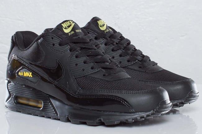 air max 90 black gold