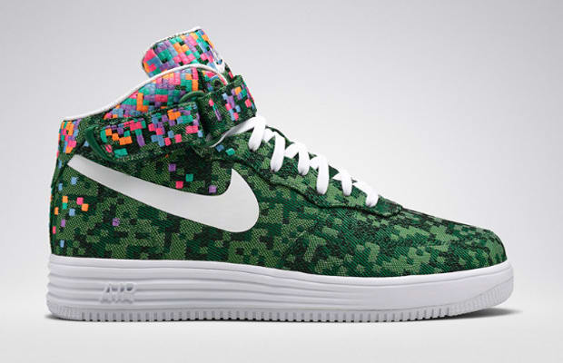 sports shoes 16013 0e068 Kicks of the Day  Nike Lunar Force 1 Mid Jacquard SP