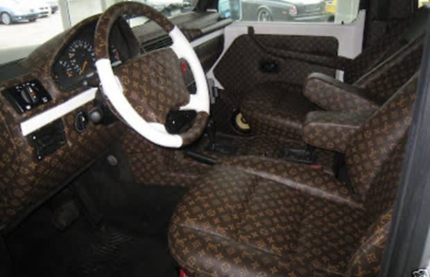 mercedes benz g 300 the 50 most outrageous custom car interiors complex. Black Bedroom Furniture Sets. Home Design Ideas