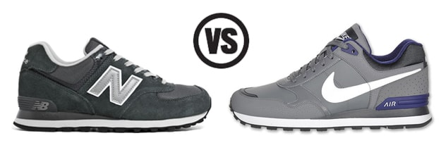 new balance shoes versus nike
